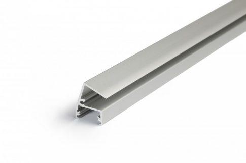EDGE10 ALU LED PROFIL LED szalag beépítéséhez ELOXÁLT