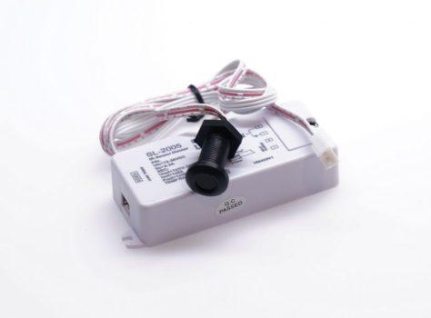 SL-2005 Infrás közelítéskapcsoló, fényerőszabályzó funkcióval, befúrható szenzorral FEKETE