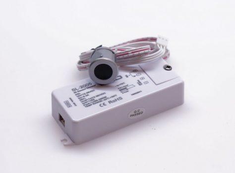 SL-2005 Infrás közelítéskapcsoló, fényerőszabályzó funkcióval, befúrható szenzorral EZÜST