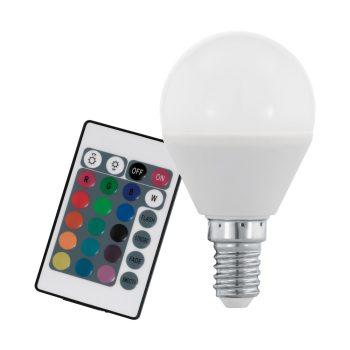 EGLO E14 RGB+W LED Colours 4W RGB+3000K 300 lumen