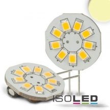 ISOLED G4 LED körpanel 9x2538SMD 1,5W 120° 3000K 150 Lumen 12V DC