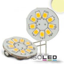 ISOLED G4 LED körpanel 9x2538SMD 1,5W 120° 4000K 150 Lumen 12V DC