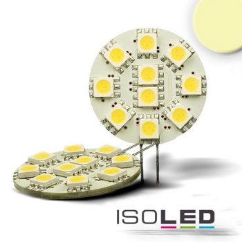 ISOLED G4 LED körpanel 10x5050SMD 2W 120° 4000K 127 Lumen 12V DC