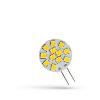 SPECTRUM  G4 LED körpanel 12xSMD 12V 1,2W 120° 2700-3200K 120 lumen 30x20 mm