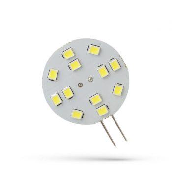 SPECTRUM G4 LED körpanel 12xSMD 12V 2W 120° 3000K 190 lumen 30x17 mm