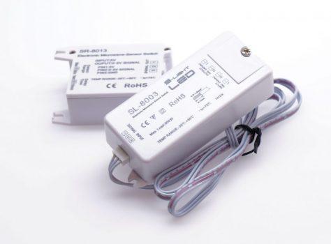 SL-8003 mikrohullámú, mozgásérzékelős kapcsoló 230V