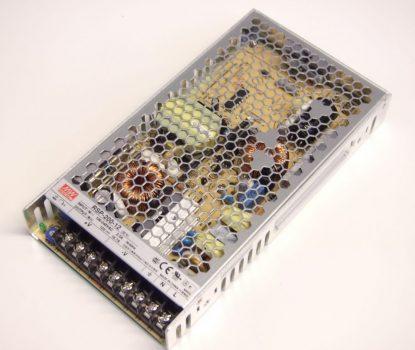 Mean Well RSP-200 200W-os IP20-as LED tápegység 12-24V DC