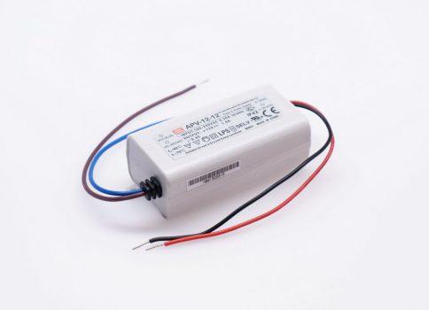 Mean Well APV-12-12 12W-os IP30-as LED tápegység 12V DC