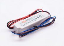 Mean Well LPV-20-12 20W-os IP67-es LED tápegység 12V DC