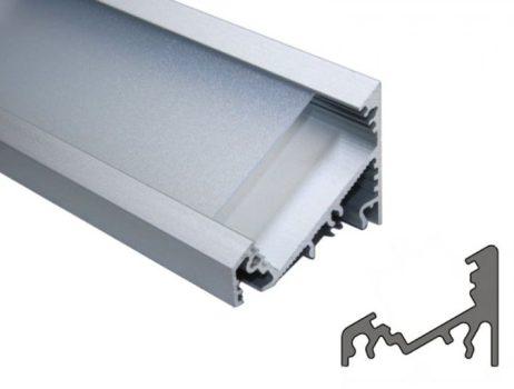 CORNER27 ALU LED profil LED szalagokhoz ELOXÁLT