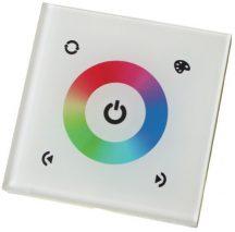TM08-E fehér fali RGB vezérlő