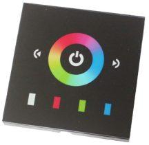 TM08-E2 fekete fali RGB vezérlő