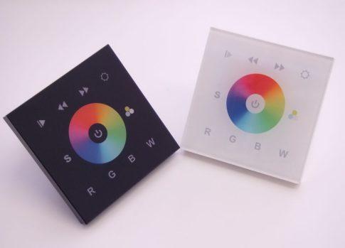 SL-2811DMX fali érintőgombos RGB+W vezérlő