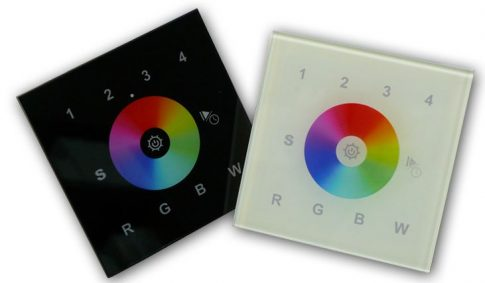 SL-2820 fali érintőpaneles rádiófrekvenciás RGB+W vezérlő