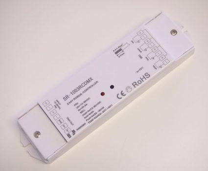SL-1003RCDMX 4x5A rádiófrekvenciás vevő  12-36V DC