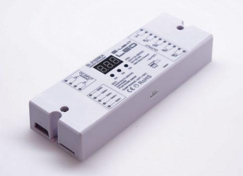 SL-2102BEA 4x8A DMX dekóder 12/24V DC
