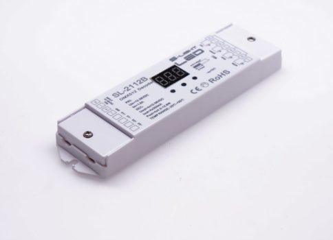 SL-2112B 4x350mA DMX dekóder 12-36V DC