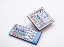 RGB vezérlő szett 36 gombos fali vezérlő + 40 gombos RF távirányító SL-CTL-RGBW-A