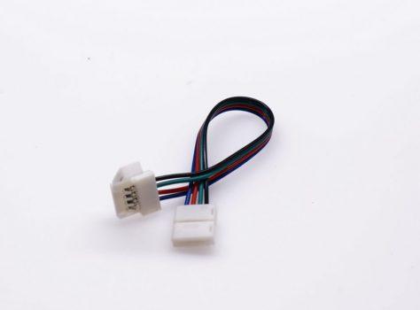 RGB (színváltós) LED szalaghoz vezetékes toldó elem