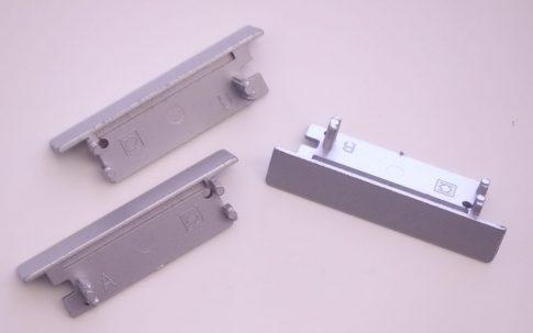 FLAT ALU LED profilhoz végzáró (Jobbos/Balos)